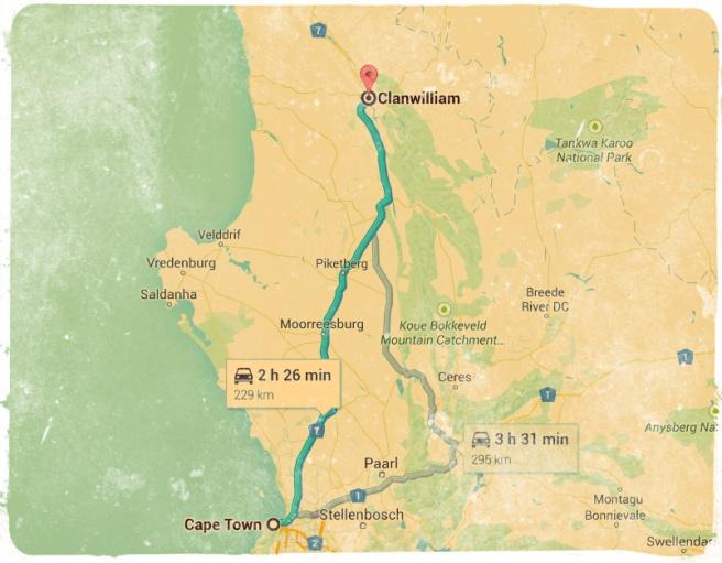 Clanwilliam Route