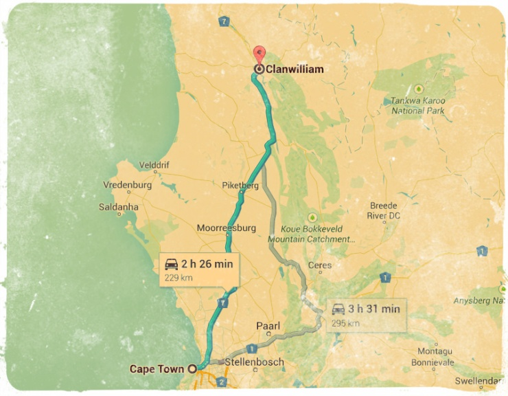 Clanwilliam Route